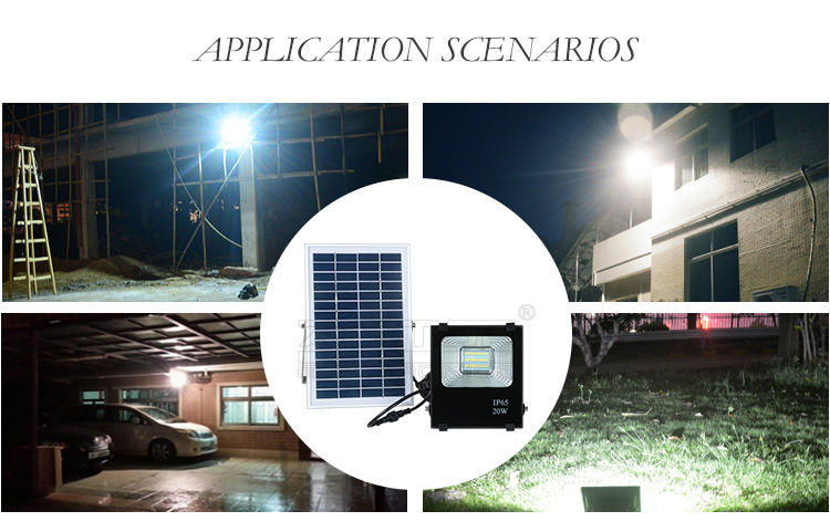 ALLTOP solar garden flood lights supply for stadium