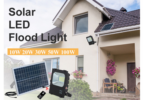 rechargeable most powerful solar flood light company for stadium-6