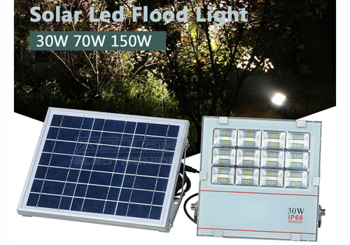 ALLTOP -Solar Led Flood Lights Good Quality Ip66 Waterproof 30w 70w 150w Aluminum-3