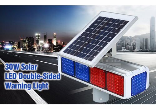 ALLTOP -Best Solar Traffic Signal Portable 30w 36w Waterproof Double-side Solar-2