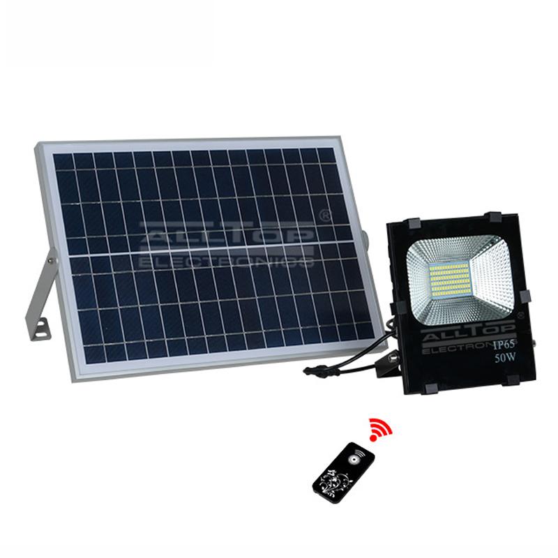 ALLTOP -High brightness ip65 waterproof outdoor SMD 10watt 20watt 30watt 50watt 100watt solar led fl