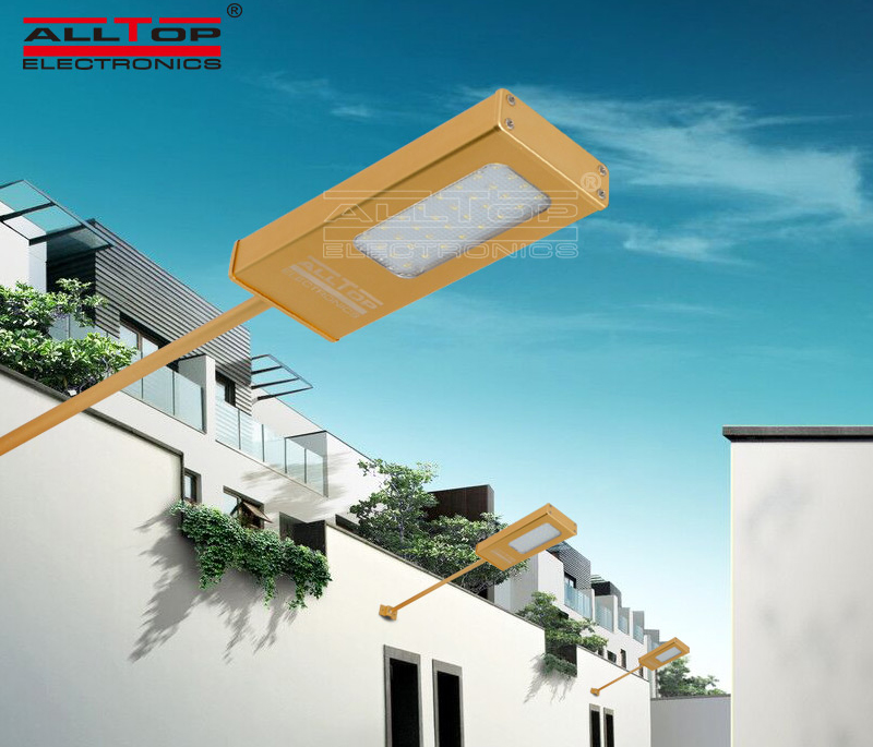 ALLTOP -Solar Led Wall Lamp | Modern Garden Outdoor Ip65 Led Wall Light-6
