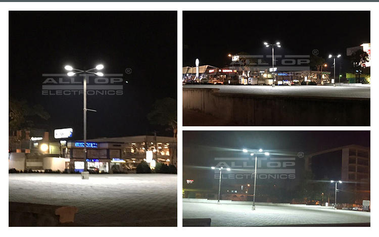 ALLTOP aluminum alloy solar powered street lights factory for business for park