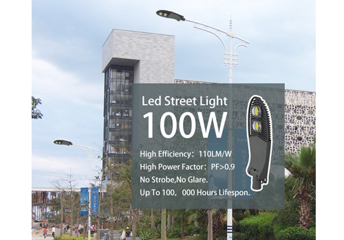 ALLTOP -50w Led Street Light 50w 100w Super Bright High Power Aluminum Cob Solar-2