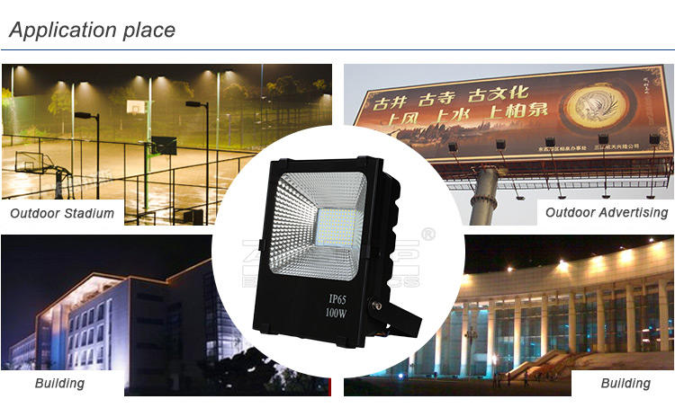 waterproof 30 watt led flood light bulb directly sale for street