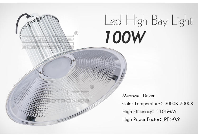 ALLTOP waterproof led high bay lamp wholesale for playground