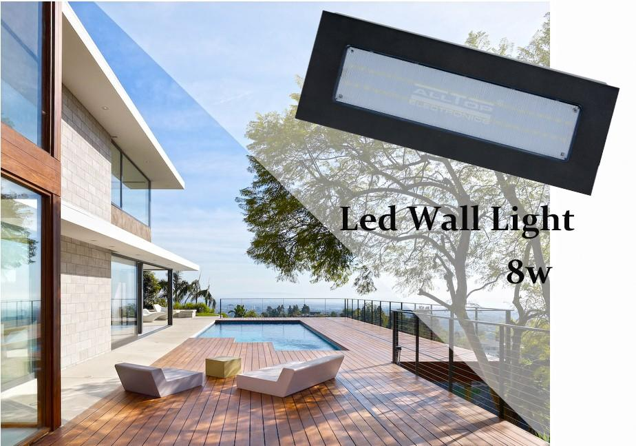 ALLTOP -Led Wall Light, High Brightness Ip65 Outdoor Indoor Garden Lights Led-1