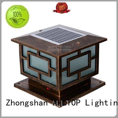 ALLTOP integrated bright solar garden lights by bulk for decoration