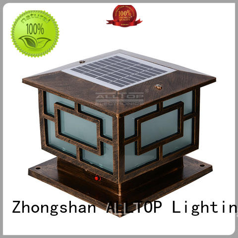 ALLTOP integrated bright solar garden lights by bulk for decoration