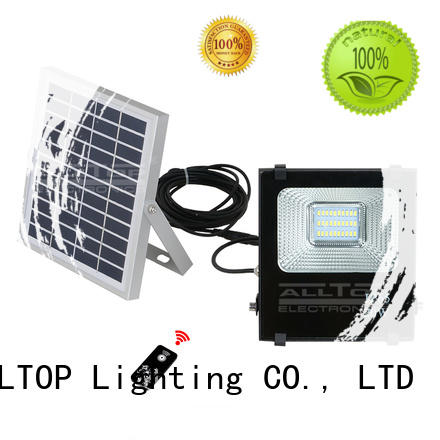 alloy solar flood light kit lighting solar ALLTOP Brand