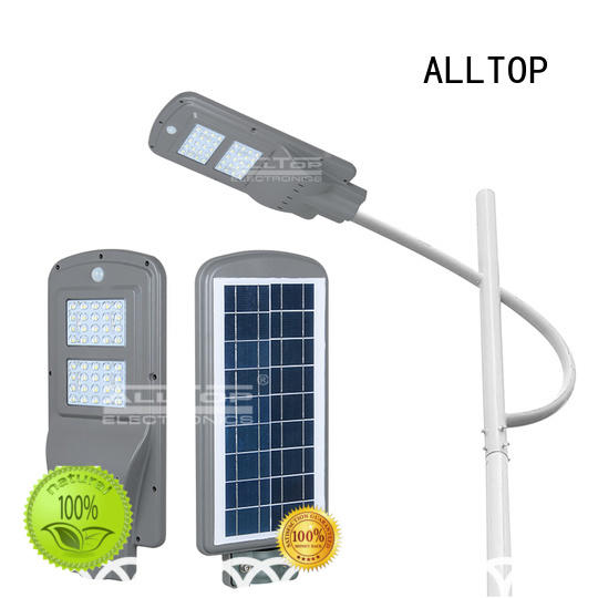 all in one solar street lights garden lumen quality ALLTOP Brand company
