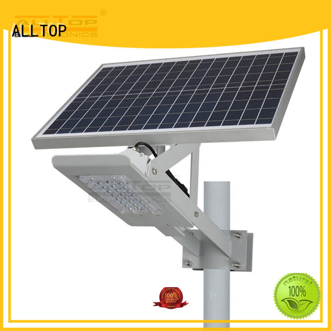 ALLTOP Brand list lumens brightness outdoor solar street lamp