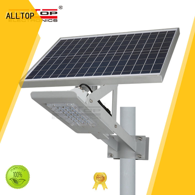 ALLTOP factory price solar street light with battery shining rightness for garden