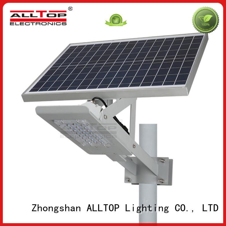 High brightness aluminum outdoor IP67 waterproof 24w 36w led solar street lighting