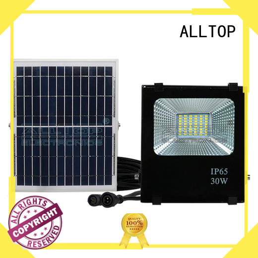 ip65 solar flood lights spotlight ALLTOP company