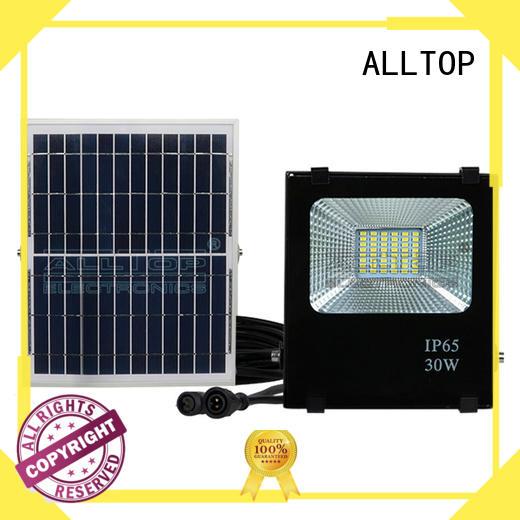 ip65 solar flood lights spotlight ALLTOP company