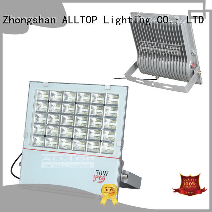 portable emergency quality solar flood lights aluminum ALLTOP