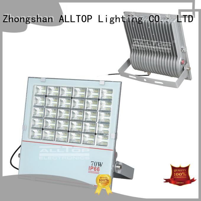portable emergency quality solar flood lights aluminum ALLTOP