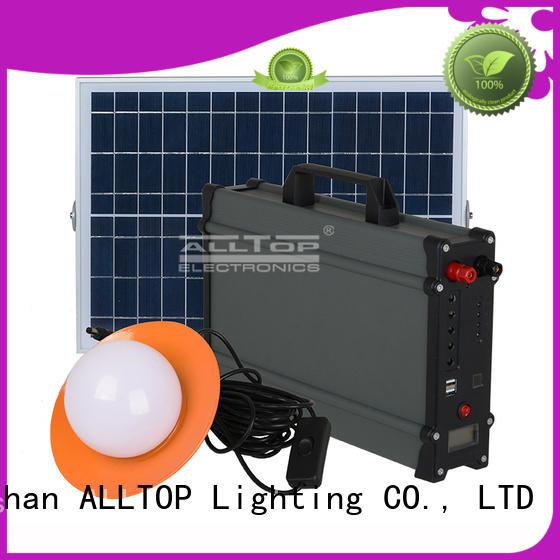 ALLTOP Brand powered led lighting systems for home solar supplier