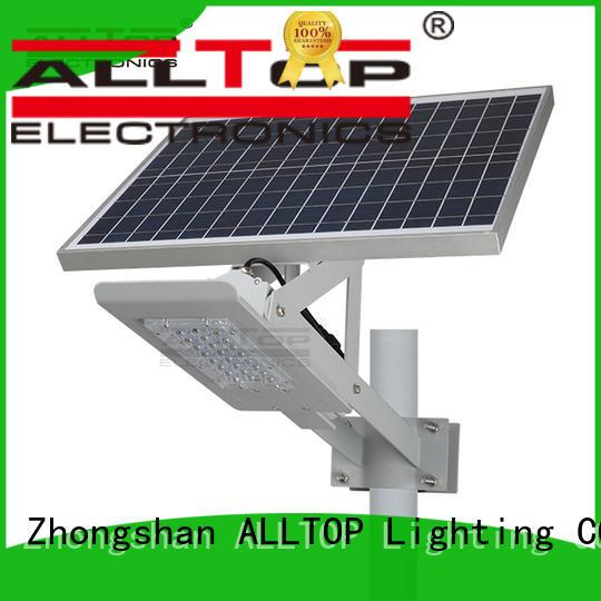factory price 12w solar street light series for landscape