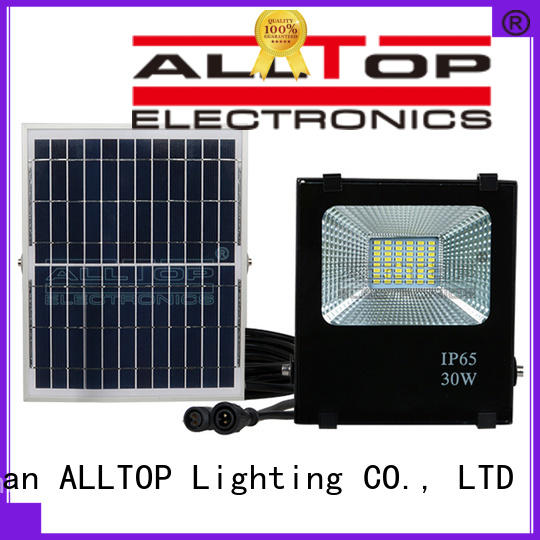 square solar flood lights with remote custom for stadium ALLTOP
