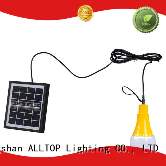 solar wall lamp outdoor solar garden aluminum ALLTOP Brand