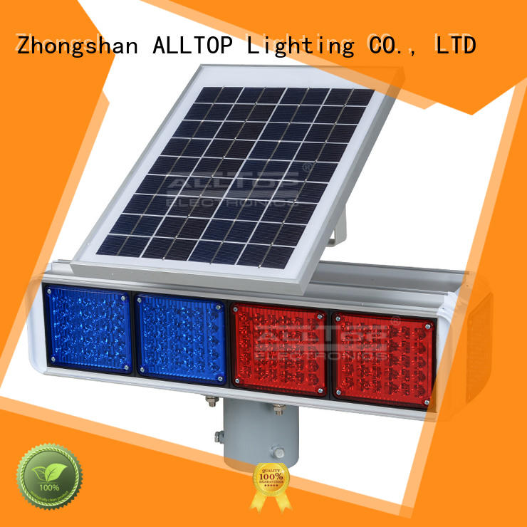 ALLTOP barricade traffic light sign mobile for workshop