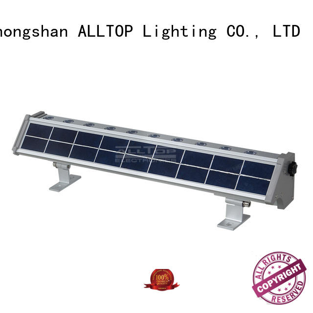solar wall lamp aluminum for street lighting ALLTOP