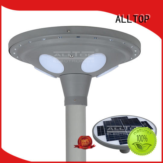 outdoor modern led ALLTOP Brand solar pillar lights