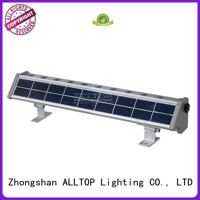 Custom energy portable solar wall lantern ALLTOP outdoor