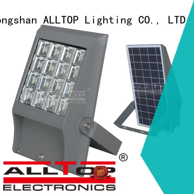 oem foldable solar ALLTOP Brand solar flood light kit factory