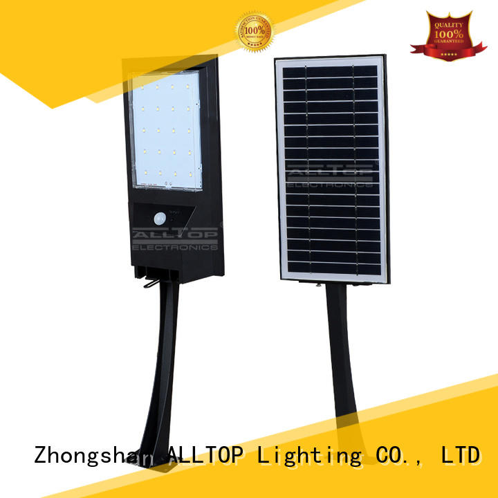 high quality solar pir wall light certification for garden ALLTOP