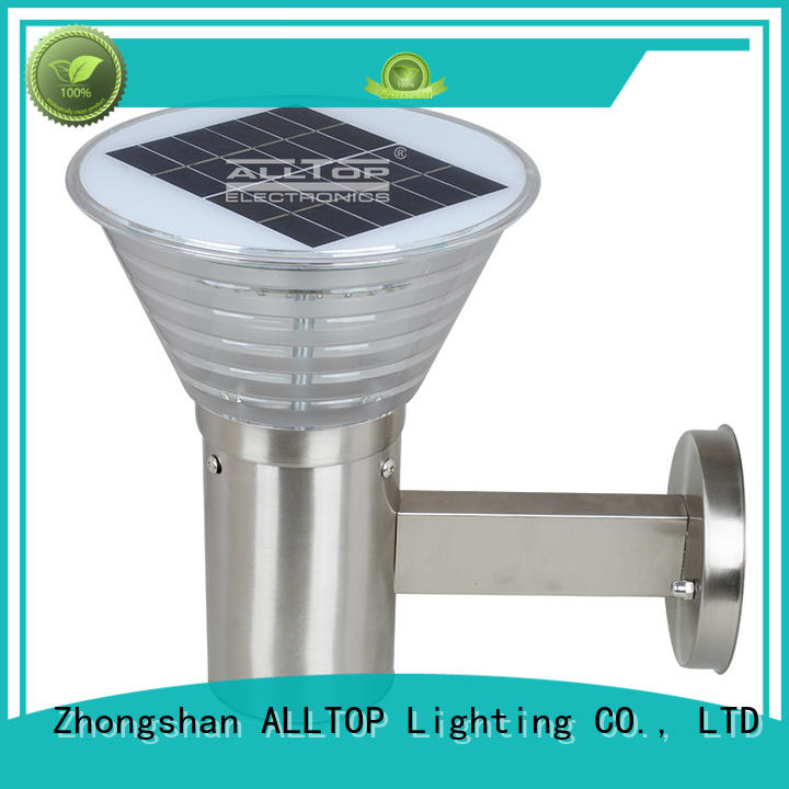 solar wall lamp outdoor quality solar wall lantern ALLTOP Brand