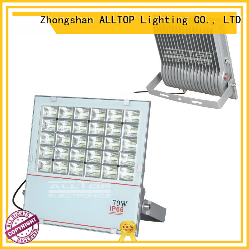 high quality solar powered flood lights outdoor aluminum alloy for spotlight