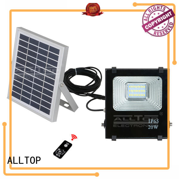 outdoor brightness solar sensor flood lights energy-saving for stadium ALLTOP