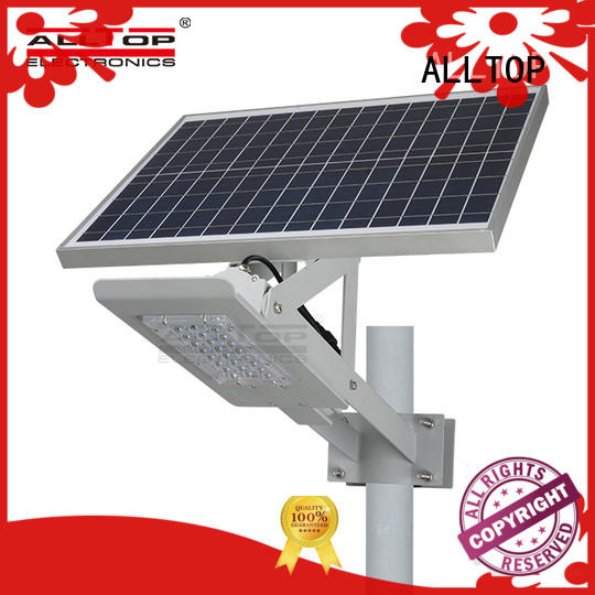 solar street light project motion sensor for outdoor yard ALLTOP