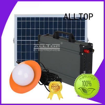 solar home lighting system system for home ALLTOP