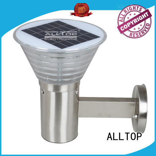 ALLTOP energy-saving solar led wall lamp housing for party