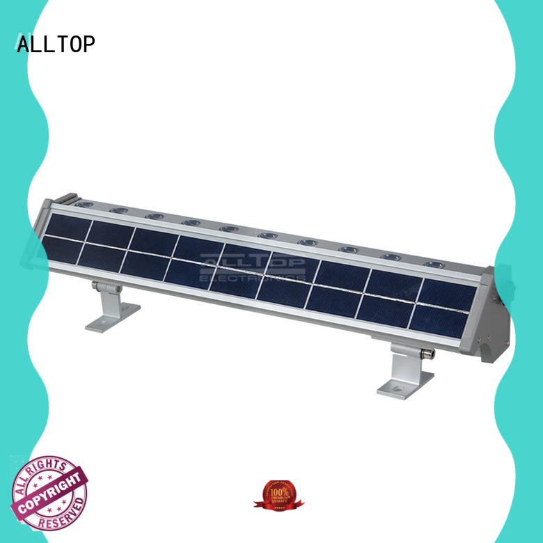 ALLTOP outdoor solar wall lights high quality for garden
