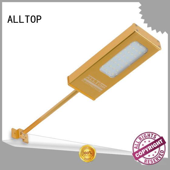 aluminum garden light solar wall lantern ALLTOP Brand company