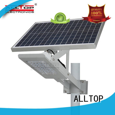 ALLTOP factory price 9w solar street light free sample for playground
