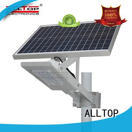 ALLTOP factory price 9w solar street light free sample for playground