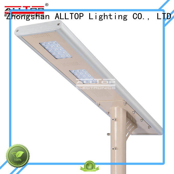 all in one solar street lights street outdoor ALLTOP Brand company