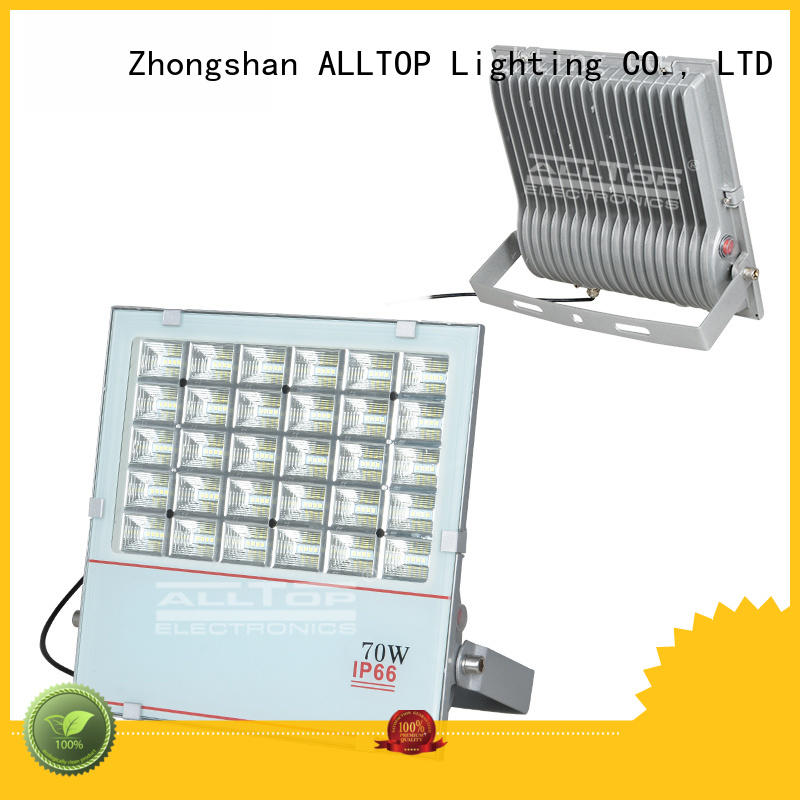 alloy Custom led lighting solar flood lights ALLTOP ip65