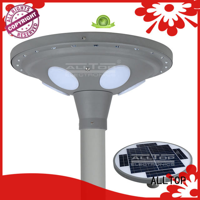 landscape Custom led solar pillar lights light ALLTOP