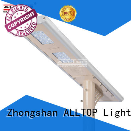 integrated lumen outdoor ALLTOP Brand all in one solar street lights factory