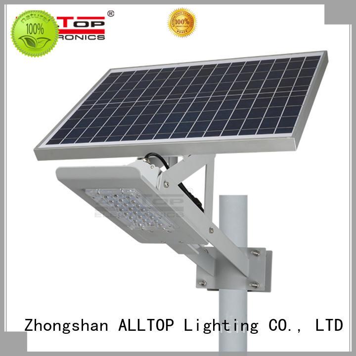 led solar street light price list all-top for lamp ALLTOP