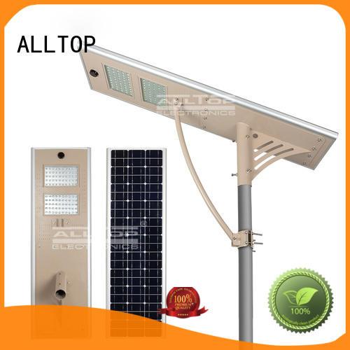 all in one solar street lights solar lumen ALLTOP Brand solar street light