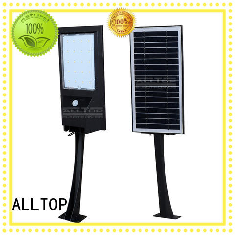 solar wall lamp outdoor camp aluminum ALLTOP Brand solar wall lantern