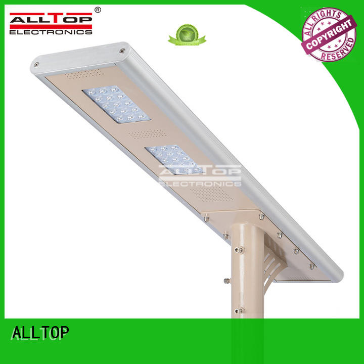 Wholesale waterproof solar street light ALLTOP Brand